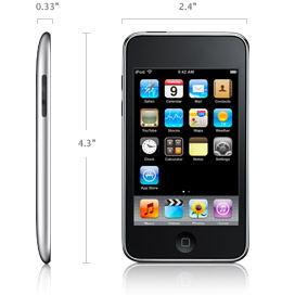 The iPod Touch.  Why?
