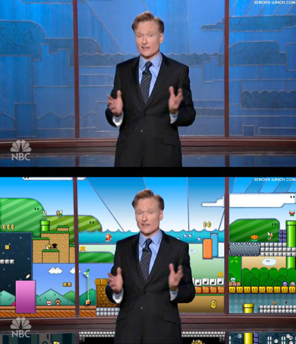 Conan in Super Mario World